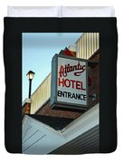 Atlantic Hotel Duvet Cover by Skip Willits
