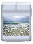 Atlantic Ocean Surf Duvet Cover