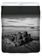 Downhill - Atlantic Rocks Duvet Cover