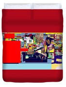 Atomic Bomb Of Purity 1a Duvet Cover
