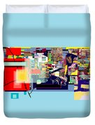 Atomic Bomb Of Purity 1b Duvet Cover
