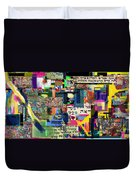 Atomic Bomb Of Purity 2c Duvet Cover by David Baruch Wolk