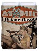 Atomic Gasoline Duvet Cover