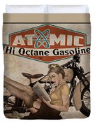 Atomic Gasoline Duvet Cover by Cinema Photography