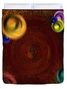 Atomic Haystack Duvet Cover