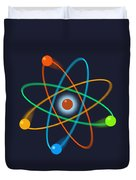 Atomic Structure Duvet Cover