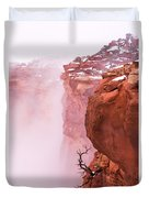 Atop Canyonlands Duvet Cover by Chad Dutson