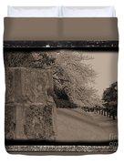 Atsugi Pillbox Walk  C Duvet Cover