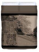 Atsugi Pillbox Walk  C1 Duvet Cover