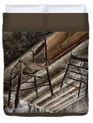 Attic Seating Duvet Cover