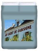 Au Cadet De Gascogne Duvet Cover