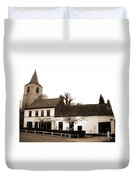 Auberge De La Roseraie Duvet Cover
