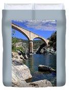 Auburn No Hands Quarry Bridge Duvet Cover