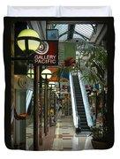 Auckland Shopping Mall Duvet Cover