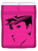 Audrey Hepburn 4 Duvet Cover