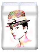 Audrey Hepburn 6 Duvet Cover