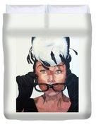 Audrey Hepburn Duvet Cover by Tom Roderick