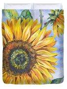 Audrey's Sunflower Duvet Cover