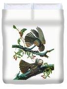 Audubon Chuck-will's Widow Duvet Cover