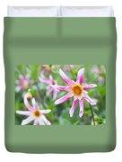 August Flower Gardens Duvet Cover