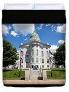 Augusta Capitol Building Duvet Cover