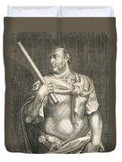 Aullus Vitellius Emperor Of Rome Duvet Cover by Titian