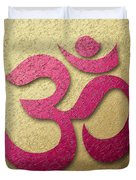 Aum Or Om Symbol Duvet Cover