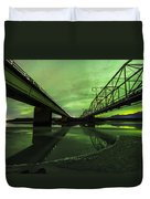 Aurora Bridge Duvet Cover