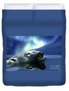 Aurora Dreaming Duvet Cover by Skye Ryan-Evans