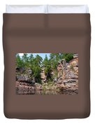 Ausable Chasm 1608 Duvet Cover