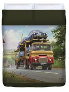 Austin Carrimore Transporter Duvet Cover by Mike  Jeffries