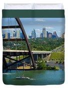 Austin From The 360 Bridge Duvet Cover