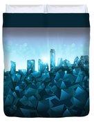 Austin Skyline Geometry 3 Duvet Cover