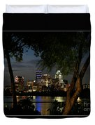 Austin Wooded Skyline Duvet Cover