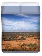 Australia Null Harbor Plain Duvet Cover