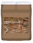 Indigenous Aboriginal Art Art 1 Duvet Cover