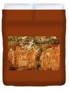 Australia Ancient Aboriginal Art 2 Duvet Cover