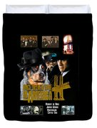 Australian Cattle Dog Art Canvas Print - Once Upon A Time In America Movie Poster Duvet Cover