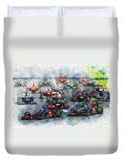 Australian Grand Prix F1 2012 Duvet Cover