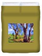 Australian Native Tree 2 Duvet Cover