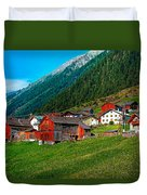 Austrian Village Duvet Cover