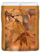 Autumn Acer Duvet Cover