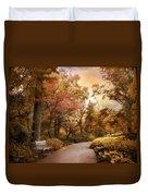 Autumn Aesthetic Duvet Cover