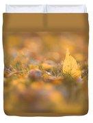 Autumn Ash Leaves Duvet Cover