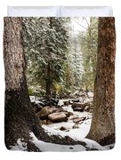 Autumn At Gore Creek 5 - Vail Colorado Duvet Cover by Brian Harig