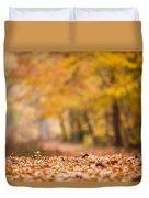 Autumn At Great Falls Duvet Cover