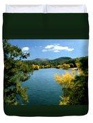 Autumn At Lynx Lake Duvet Cover by Kurt Van Wagner