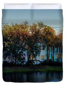 Autumn At Old Key West Resort Panorama Walt Disney World Duvet Cover