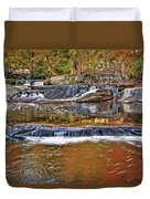 Autumn At Olmsted Falls Duvet Cover