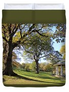 Autumn At Runnymede Uk Duvet Cover